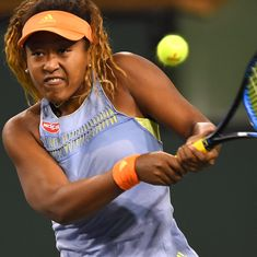 Naomi Osaka reaches Pan Pacific Open final in Tokyo after beating Camila Giorgi in straight sets