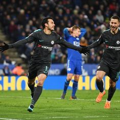 Pedro's extra-time winner downs Leicester City, sends Chelsea into FA Cup semi-finals