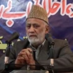 Kashmir: Muhammad Ashraf Sehrai takes over from Geelani as Tehreek-e-Hurriyat chairperson