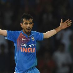 Yuzvendra Chahal catapults to world No 2 in T20I rankings, Washington jumps 151 spots to 31st