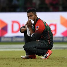 Bangladesh captain Shakib Al Hasan fined for shouting at the umpire