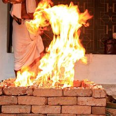 Hindu group plans to reduce air pollution by burning 50,000 kg of wood in Meerut