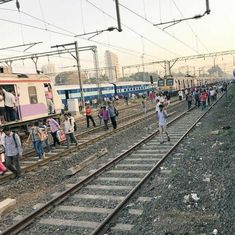 Mumbai: Police file cases against students who staged rail roko agitation, arrest two