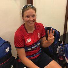 Katie George picks up hat-trick on debut as England down India A in second warm-up game