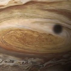 Watch: NASA takes you on a breathtaking ride into the Great Red Spot of Jupiter
