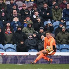 From the seventh tier to England call-up, Burnley's Nick Pope dreams of World Cup start
