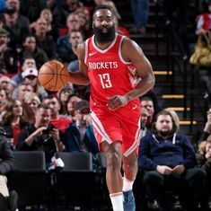 NBA: James Harden's 42 points help Rockets snap Trail Blazers' 13-game winning streak