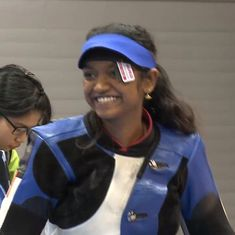India's Elavenil Valarivan wins 10m Air Rifle gold at Junior Shooting World Cup