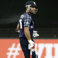 'That LBW decision is not sitting very well with us': Scotland's Coetzer bemoans WC near-miss