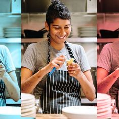 An Indian-American woman who spent years rejecting Indian cuisine has become its unlikely champion