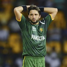 'Can you stop infiltration by Pakistani terrorists': Shahid Afridi criticised for tweet on Kashmir