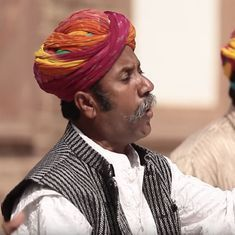 Listen: Rajasthani folk singers present their take on the Kaharvaa taal