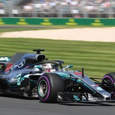 Australian GP: Unstoppable Hamilton leads Mercedes one-two in opening practice