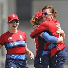 England thrash Australia by eight wickets in women's T20 tri-series