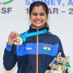 India's Manu Bhaker sets new mark with gold at Junior Shooting World Cup