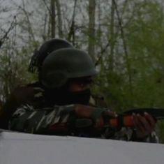 जम्मू-कश्मीर : सुरक्षा बलों ने चार आतंकियों को ढेर किया