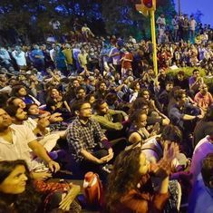 Delhi Police file FIR against participants of JNU protest march