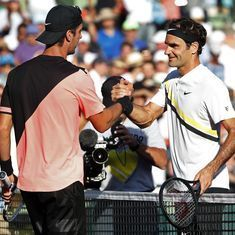 Federer stunned in second round of Miami Open by Kokkinakis, will skip clay court season again