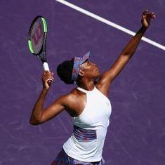 Miami Open: Venus survives Bertens scare, Svitolina downs Gavrilova in three sets