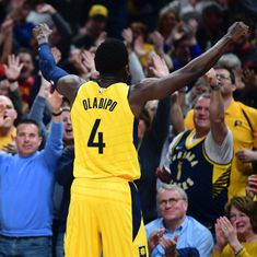 Indiana Pacers stage late rally to clinch playoff spot, Milwaukee Bucks defeat Spurs