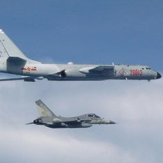Taiwan sends aircraft to follow Chinese fighter jets holding a drill near the island
