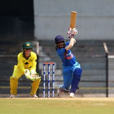 On the field and with the bat, Jemimah Rodrigues shines for India on another dismal day
