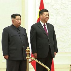 Kim Jong-un meets Xi Jinping in China, commits to denuclearisation of North Korea