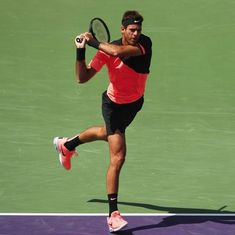 Miami Open: Del Potro crushes Krajinovic in straight sets to meet Raonic in quarter-finals