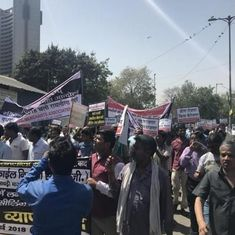 Delhi: Over 3,000 markets closed as traders hold rally to protest sealing drive
