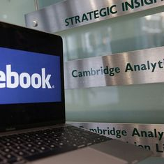 Centre sends second notice to Facebook, Cambridge Analytica, says their first response was 'cryptic'