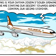 'What If': Read Nicholas Wild's graphic novel about scientist Homi Bhabha and a plane crash