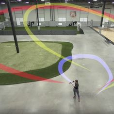 Watch these trick boomerang shots by the world champion. They're all but incredible