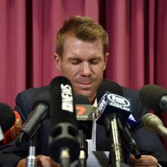 After Smith and Bancroft, Warner accepts Cricket Australia's sanctions over ball-tampering
