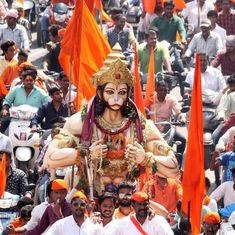 Subdued Hanuman Jayanti in West Bengal this year as state recovers from Ram Navami violence