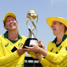 Australia set record T20 total to humble England and clinch women's tri-series title