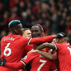 Lukaku brings up Premier League century as Manchester United retake 2nd place with win over Swansea