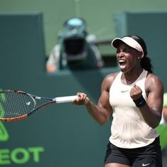 Sloane Stephens downs Jelena Ostapenko in straight sets to win Miami Open for first time