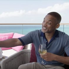 Watch: Actor Will Smith's intimate date with Sophia the robot was as awkward as any with a human