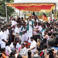 Chennai: 200 DMK workers detained for protesting over formation of Cauvery management board