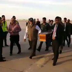 इराक में मारे गए 39 भारतीयों में से 38 के शवों के साथ विशेष विमान भारत पहुंचा