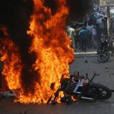 Bharat Bandh: Nine killed, hundreds detained as protests turn violent in several states