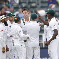 Injured Morkel stars in his final Test as South Africa inch closer to victory over Australia