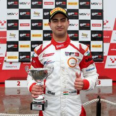 Kush Maini finishes third in round one of British F3 Championship