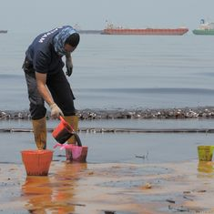 Indonesia: Port city on Borneo declares emergency as oil spill spreads