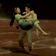Picture the song: 'Hum Bane Tum Bane' from 'Ek Duuje Ke Liye' proves that love has no language