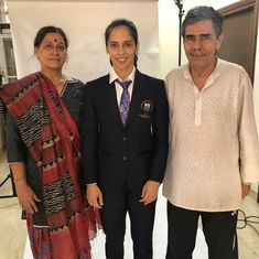 Saina, Sindhu urged to reconsider parents' CWG accreditation after gymnasts' coaches miss out