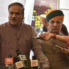 MPs of National Democratic Alliance to forego salary for disrupted Budget Session, says Ananth Kumar