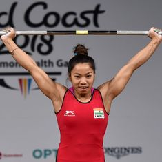 Weightlifting: Mirabai Chanu betters own national record but misses out on medal in World C'ships