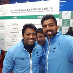 Leander Paes eyes world record as India face China in Davis Cup tie
