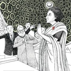 A new illustrated biography of Indira Gandhi offers a visual treat but omits many of her key flaws